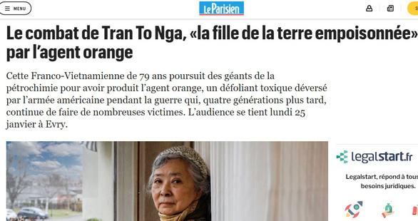 Phiên tòa đòi công lý của bà Trần Tố Nga đã bắt đầu tại Pháp - Ảnh 4.