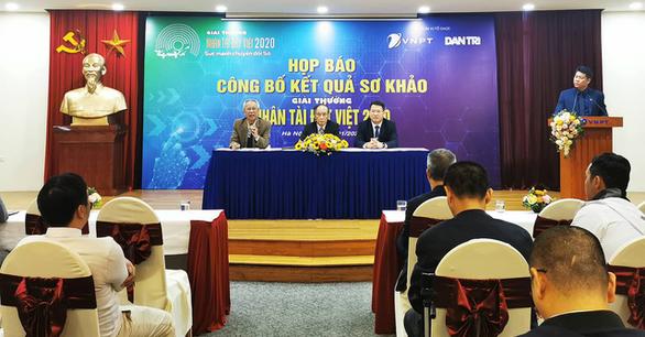 18 sản phẩm vào chung khảo Nhân tài Đất Việt Sức mạnh chuyển đổi Số - Ảnh 1.