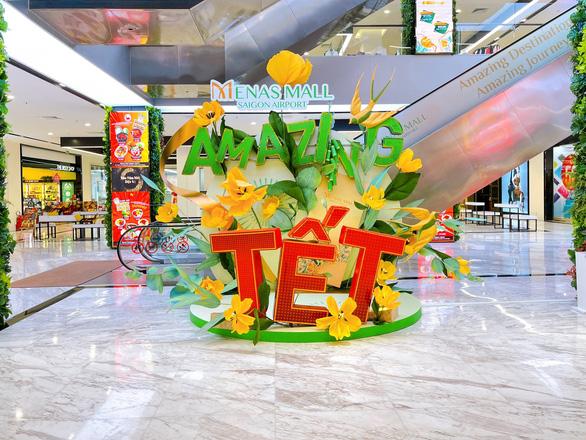 Amazing Tết - Đón năm mới diệu kỳ tại Menas Mall Saigon Airport - Ảnh 3.