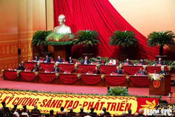 Hôm nay, Đại hội Đảng XIII thảo luận nội dung văn kiện - Ảnh 1.