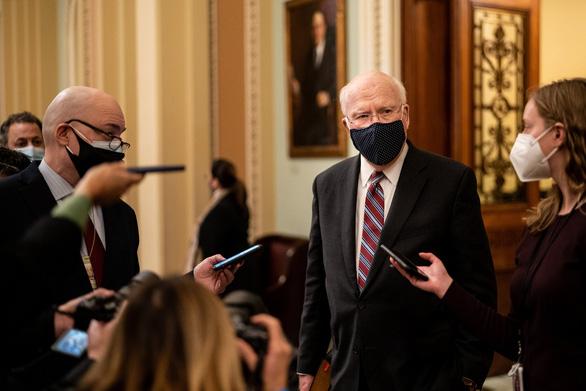 سناتور پاتریک لیهی ریاست دادگاه آقای ترامپ در مجلس سنا را بر عهده دارد؟  - تصویر 1