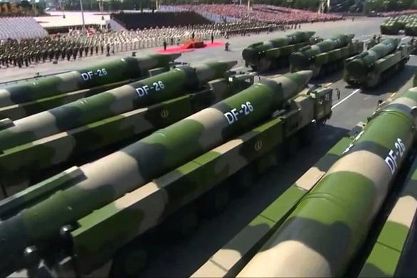 Trung Quốc đưa bệ phóng tên lửa đạn đạo DF-26 tới gần Nhật, Ấn để huấn luyện - Ảnh 1.