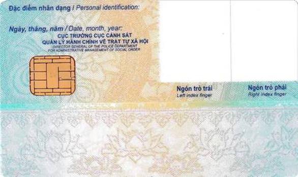 Thẻ căn cước công dân gắn chip chính thức có hình dáng cụ thể ra sao? - Ảnh 2.