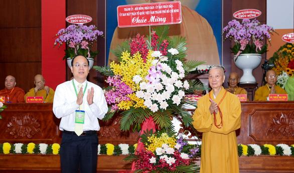 Lãnh đạo TP.HCM chúc tết Ban trị sự Giáo hội Phật giáo Việt Nam TP.HCM - Ảnh 2.