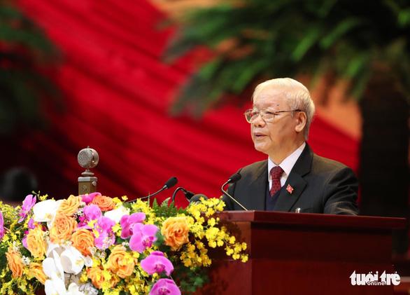 Toàn văn Báo cáo của Ban Chấp hành Trung ương Đảng khóa XII về các văn kiện trình Đại hội XIII - Ảnh 1.