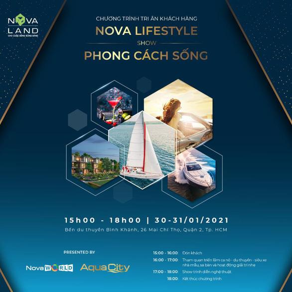 Tiếp nối chuỗi hoạt động tri ân, Novaland tổ chức sự kiện Nova Lifestyle - Show phong cách sống - Ảnh 1.