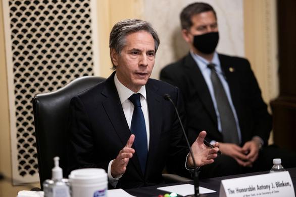 Tân Ngoại trưởng Mỹ bác bỏ các yêu sách phi pháp của Trung Quốc ở Biển Đông - Ảnh 1.