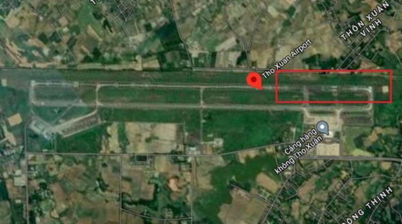 Sân bay Thọ Xuân bị chó 'đột nhập' vào đường băng - Ảnh 1.