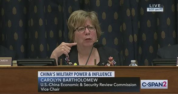 Phó chủ tịch Ủy ban Quốc hội Mỹ: Trung Quốc nói với thế giới dựa trên nói dối và một nửa sự thật - Ảnh 1.