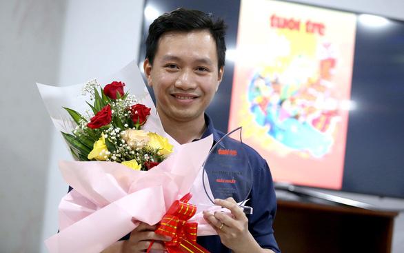 Bìa Tuổi Trẻ xuân - Tân Sửu an vui giành giải nhất của Hội Nhà báo TP.HCM - Ảnh 3.