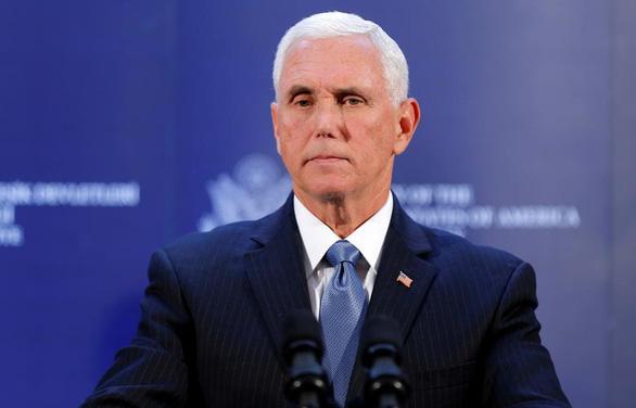 Phó tổng thống Mỹ hoan nghênh các nghị sĩ phản đối kết quả bầu cử theo luật pháp - Ảnh 1.