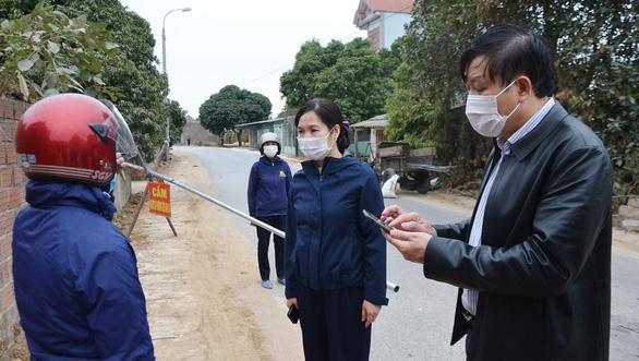 Phong tỏa toàn bộ xã An Sinh thuộc điểm nóng thị xã Đông Triều - Ảnh 1.