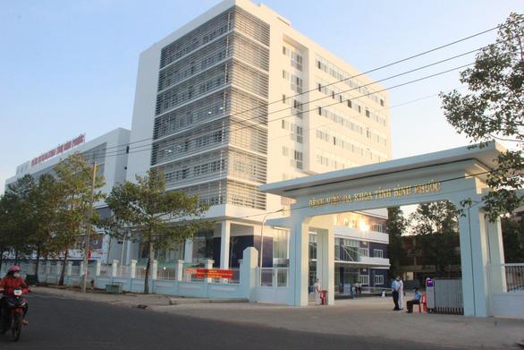 Đưa tòa nhà 9 tầng Bệnh viện Đa khoa Bình Phước vốn 700 tỉ đồng vào hoạt động - Ảnh 1.