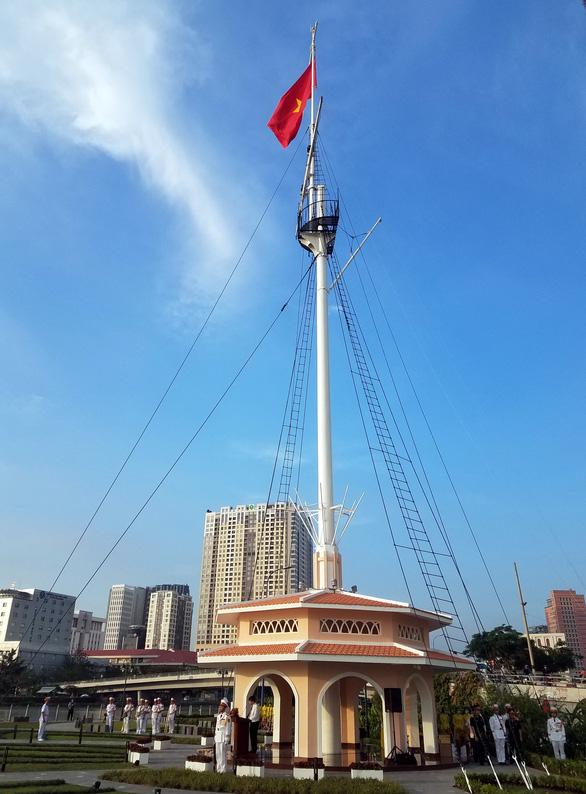 Khánh thành di tích cột cờ Thủ Ngữ - Ảnh 1.
