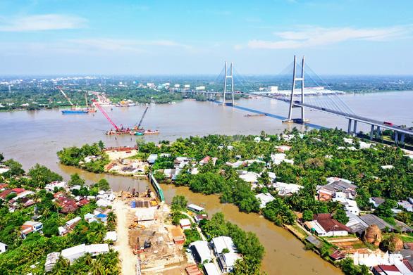Thủ tướng yêu cầu đẩy nhanh xây cầu Mỹ Thuận 2, kịp thông tuyến cao tốc TP.HCM - Cần Thơ - Ảnh 3.