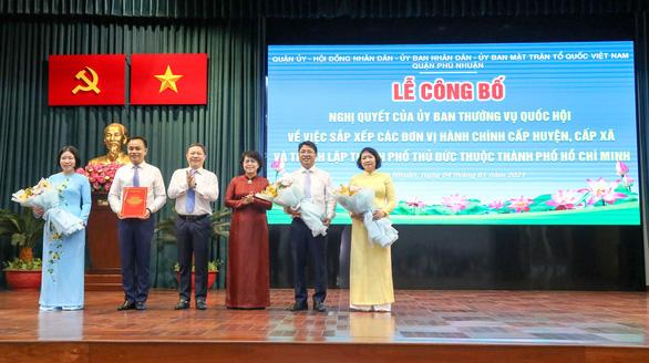Quận 3 có phường Võ Thị Sáu, quận Phú Nhuận sáp nhập 4 phường - Ảnh 2.
