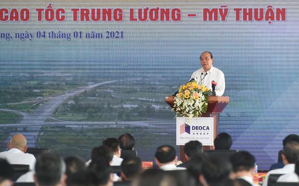 Cao tốc Trung Lương - Mỹ Thuận phải là tuyến cao tốc kiểu mẫu tiêu chuẩn quốc tế - Ảnh 1.