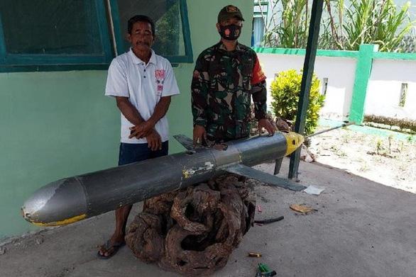 ماهیگیران اندونزیایی وسیله ای بدون سرنشین ساخت چین را گرفتند