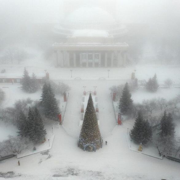 Ngỡ ngàng khung cảnh mùa đông - 45 độ - Ảnh 3.