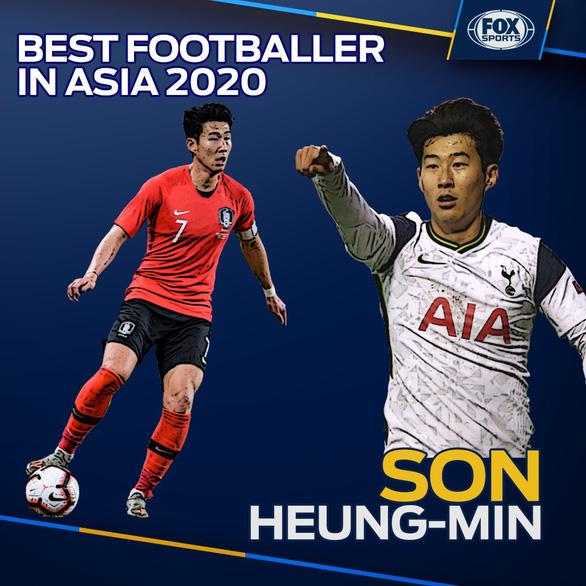 Điểm tin thể thao sáng 5-1: Son Heung Min giành giải Cầu thủ xuất sắc nhất châu Á - Ảnh 1.
