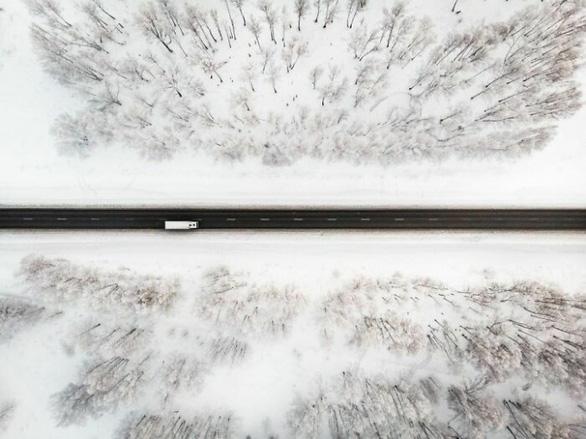 Ngỡ ngàng khung cảnh mùa đông - 45 độ - Ảnh 1.