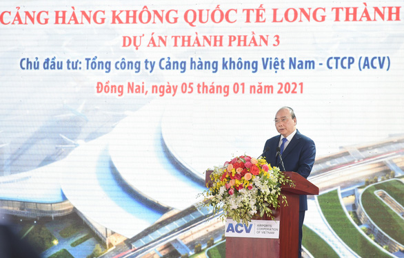 Thủ tướng bấm nút khởi công xây dựng sân bay Long Thành - Ảnh 2.