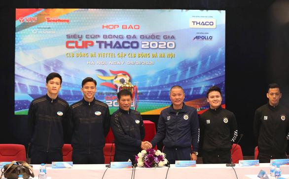 5.000 khán giả được vào sân Hàng Đẫy xem trận Siêu cúp giữa CLB Viettel và Hà Nội - Ảnh 1.