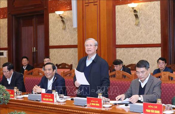 Thường trực Ban Bí thư Trần Quốc Vượng: Tập trung cao độ phục vụ Đại hội XIII - Ảnh 1.