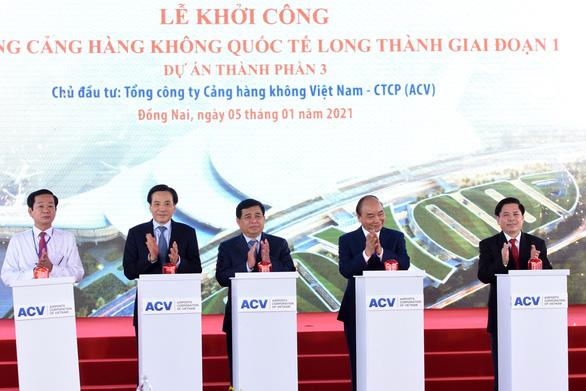 Sân bay Long Thành góp phần cho sự hùng cường của đất nước - Ảnh 1.