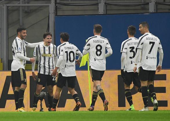 Ronaldo mờ nhạt, Juventus vẫn bỏ túi đầu bảng AC Milan - Ảnh 1.
