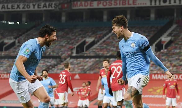 Man Utd bị Man City khuất phục, mất vé chung kết Cúp Liên đoàn - Ảnh 1.