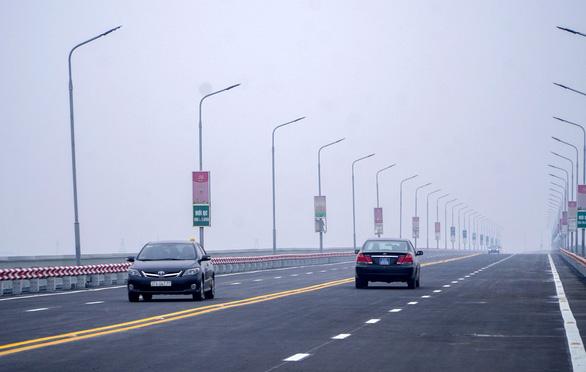 Cầu Thăng Long thông xe sau hơn 4 tháng sửa chữa - Ảnh 4.