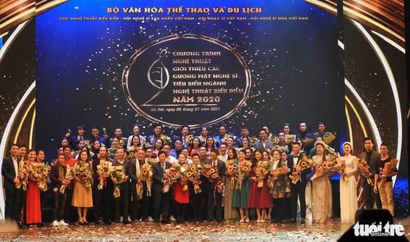 Vinh danh hơn 60 nghệ sĩ biểu diễn tiêu biểu năm 2020 - Ảnh 1.