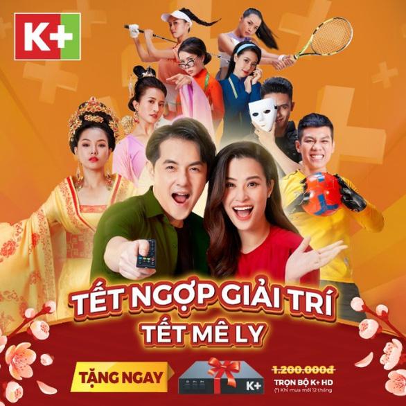 K+ tặng đầu thu cho khách hàng nhân dịp Tết Tân Sửu 2021 - Ảnh 1.