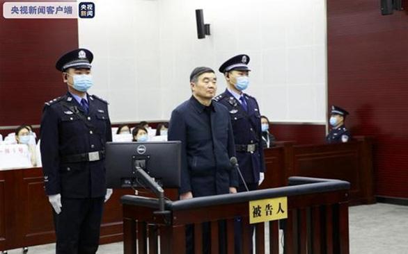 Cựu chủ tịch Ngân hàng Phát triển Trung Quốc lãnh án chung thân - Ảnh 1.