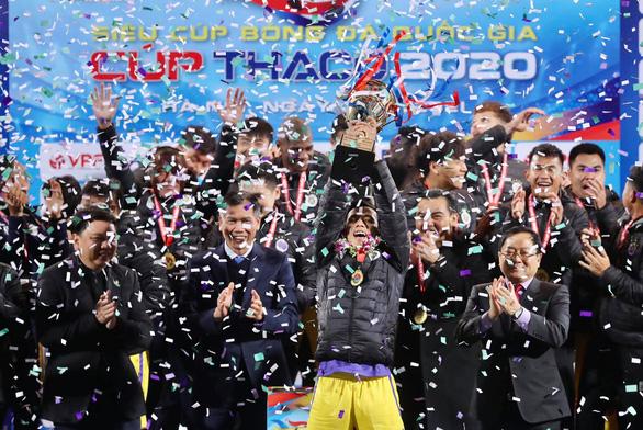 CLB Hà Nội giành Siêu cúp quốc gia 2020 - Ảnh 1.