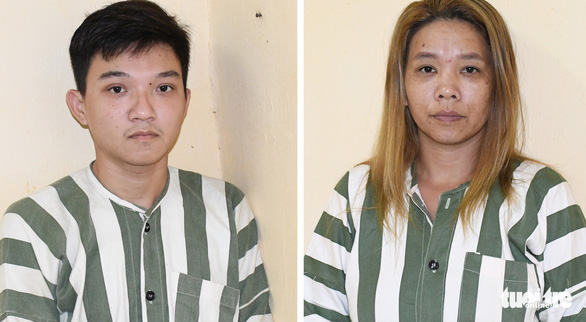 Bắt giam đôi nam nữ chuyên trộm xe máy ở Trà Vinh - Ảnh 1.