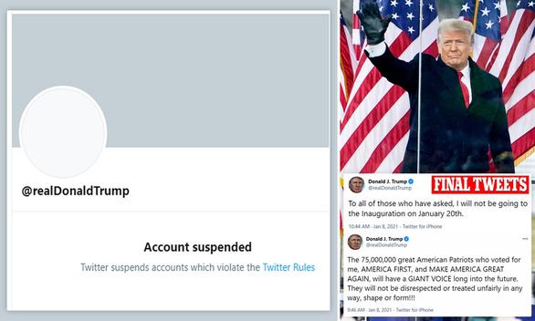Tổng thống Trump muốn lập mạng xã hội riêng sau khi tố bị Twitter bịt miệng - Ảnh 1.