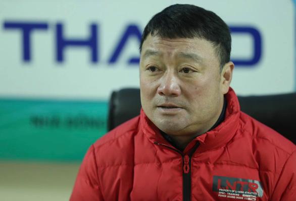 HLV Trương Việt Hoàng: Cầu thủ Viettel đã có một trận đấu đáng biểu dương - Ảnh 1.