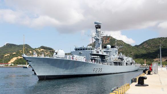 Việt Nam sẽ diễn tập hải quân với khinh hạm HMS Richmond, Anh  - Ảnh 1.