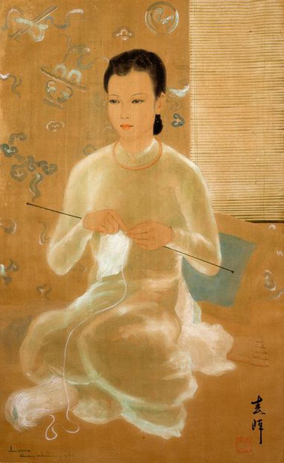 Tranh hiếm của nhà văn Nhất Linh được đấu giá thành công trên sàn quốc tế - Ảnh 4.