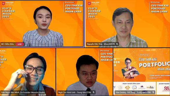 Đại Học Văn Lang và tuần lễ hướng nghiệp giữa mùa COVID - Ảnh 2.