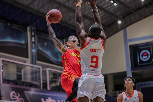 Tuyển bóng rổ Việt Nam nhận thất bại đầu tiên - Ảnh 2.