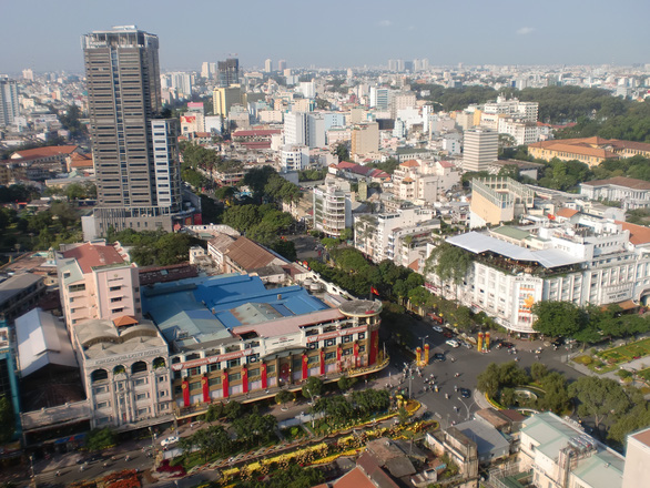 Sài Gòn - những vòng xoay ký ức - Kỳ 2: Bùng binh Sài Gòn và đại lộ phồn hoa - Ảnh 1.