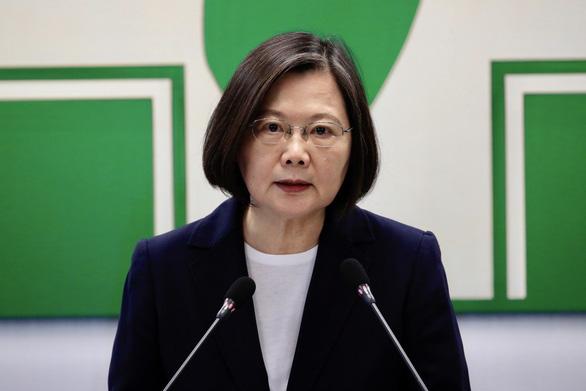 Bà Thái Anh Văn: Không ai có thể ép Đài Loan chọn con đường Trung Quốc vạch sẵn - Ảnh 1.