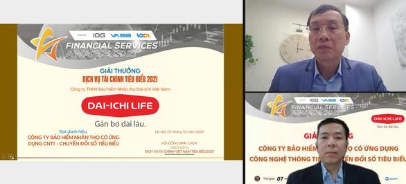 Dai-ichi Life Việt Nam nhận giải thưởng về chuyển đổi số - Ảnh 1.