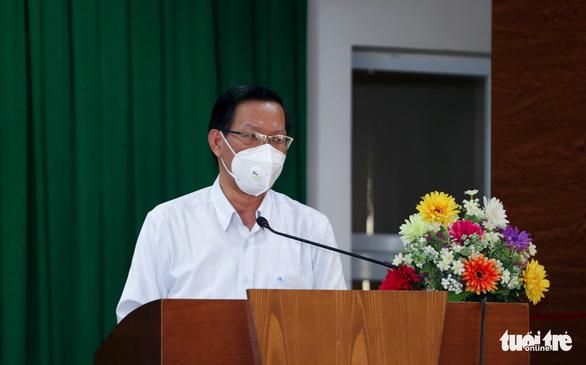 Chủ tịch Phan Văn Mãi: TP.HCM dự kiến phát triển 1 triệu nhà ở giá rẻ cho người thu nhập thấp - Ảnh 3.