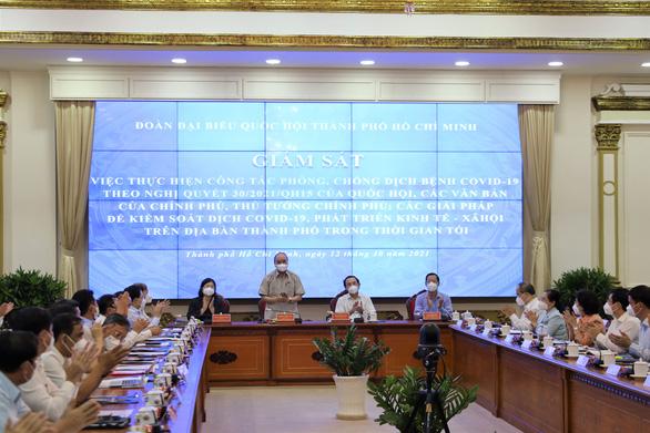 Ông Nguyễn Thiện Nhân: Đề nghị hỗ trợ phí xét nghiệm cho doanh nghiệp đến hết năm 2021 - Ảnh 1.