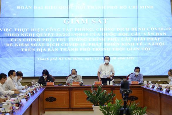 Bí thư Nguyễn Văn Nên: TP đã áp dụng biện pháp khẩn cấp nhưng không tuyên bố tình trạng khẩn cấp - Ảnh 1.