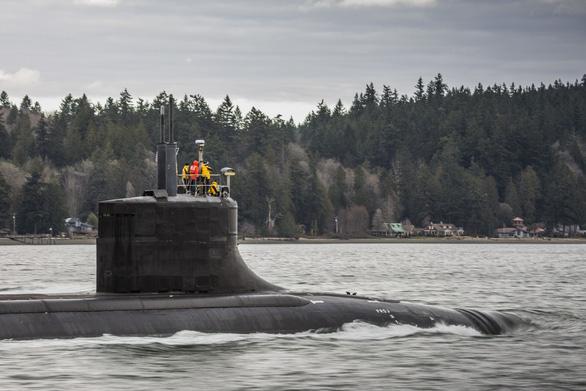 Chuyên gia giải đáp lý do tàu ngầm hạt nhân tỉ USD của Mỹ gặp sự cố ở Biển Đông - Ảnh 1.